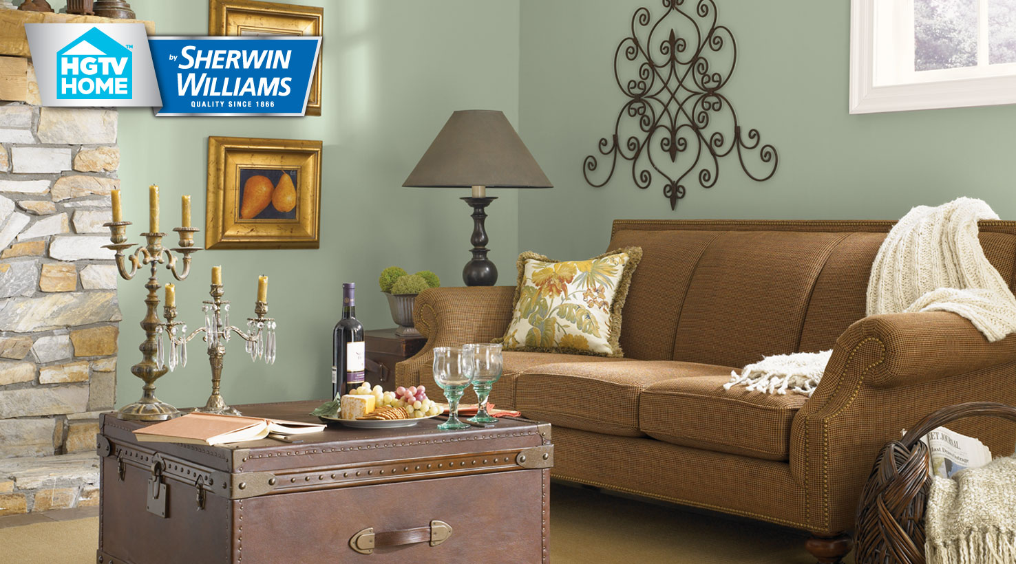 Rustic Refined Paint Color Collection Hgtv Home By