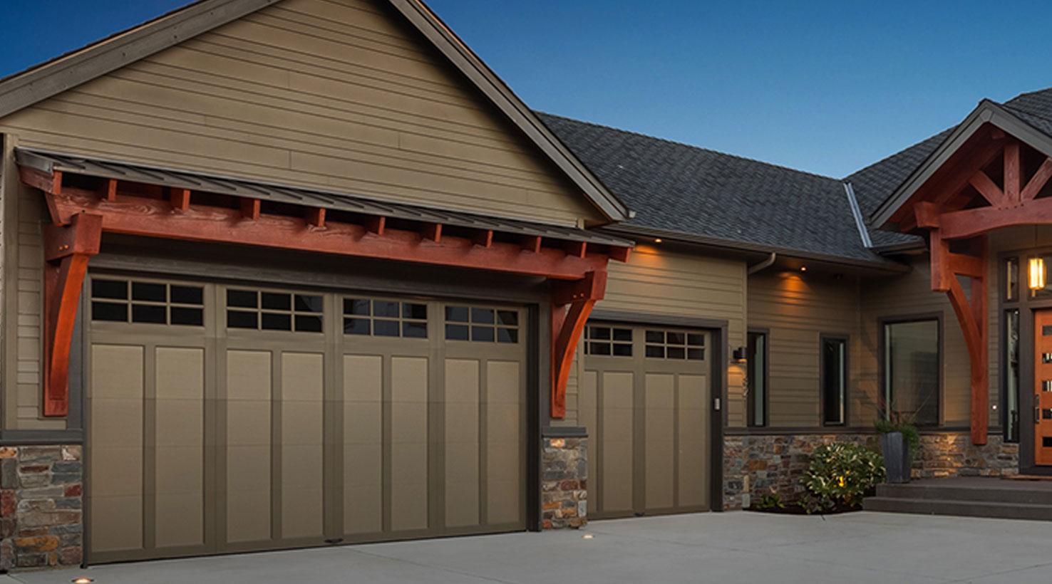 Garage Door Paint Color Inspiration | Sherwin-Williams on Garage Door Color  id=11825