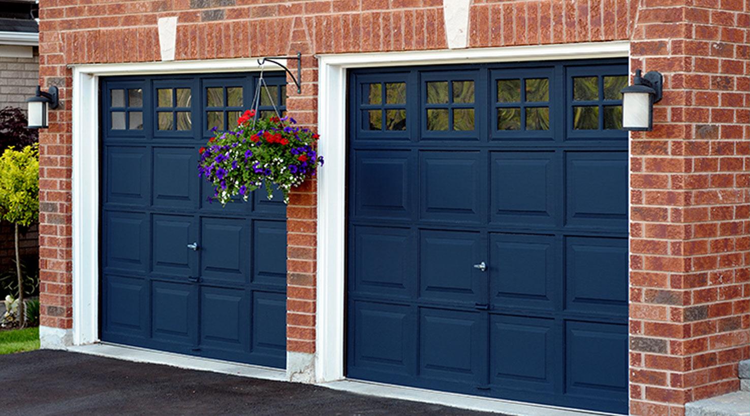 Garage Door Paint Color Inspiration | Sherwin-Williams on Garage Door Colors  id=57764