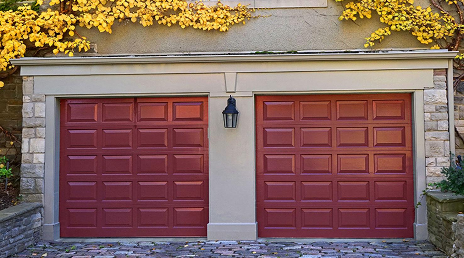 Garage Door Paint Color Inspiration | Sherwin-Williams on Garage Door Colors  id=64179
