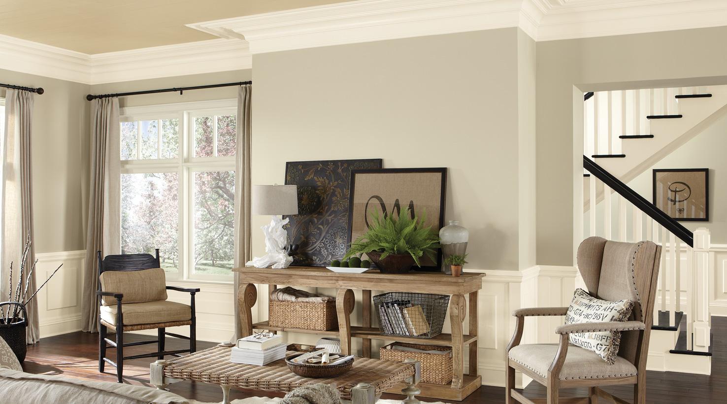 living room paint color ideas inspiration gallery on best laundry room paint color ideas with wood trim id=23383