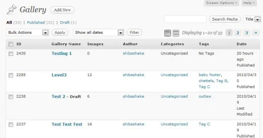 Render new custom post type columns with the proper data.