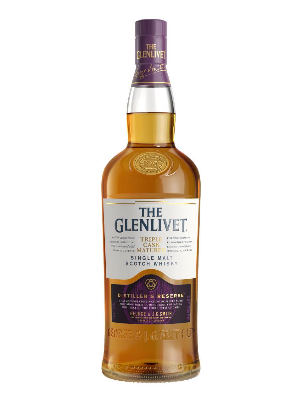 Glenlivet 三桶熟成蒸餾廠珍藏威士忌 40 度 1L | 法蘭克福機場網上購物