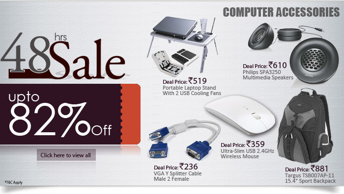 82% off computer accessories