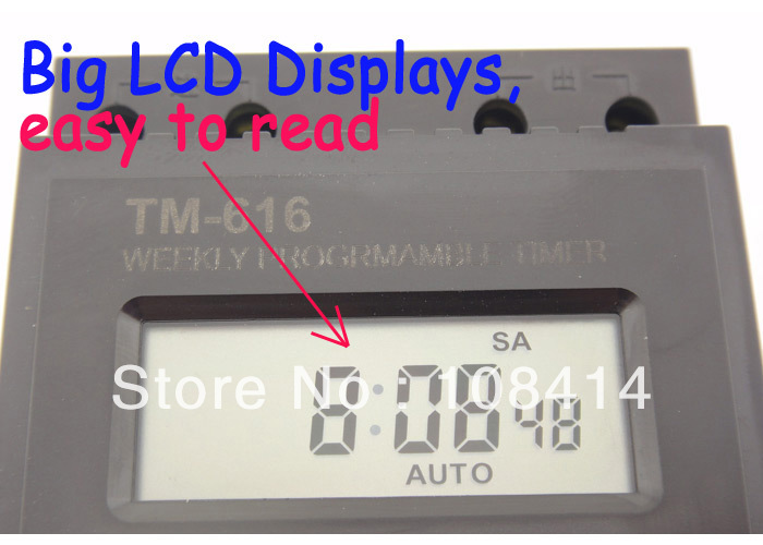 30AMP 7 Days Programmable Digital TIMER SWITCH