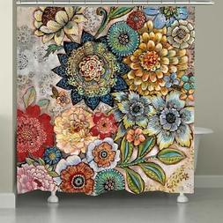 bath laural home dream forest shower curtain home furniture diy peppermilk eu