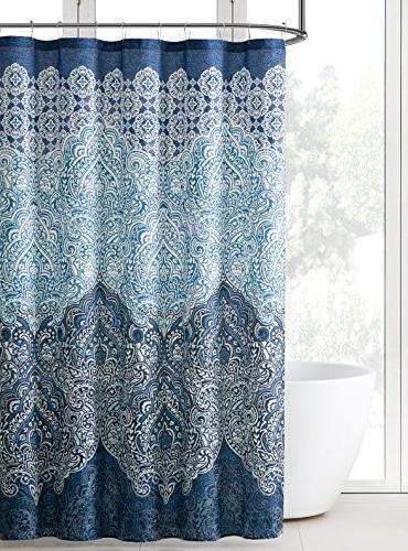 https elegant shower curtain org indina boho paisley bathroom fabric shower html