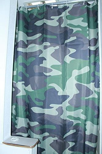 solid elements rv shower curtain