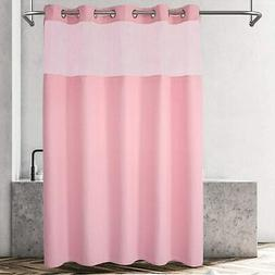 hookless shower curtain no liner needed
