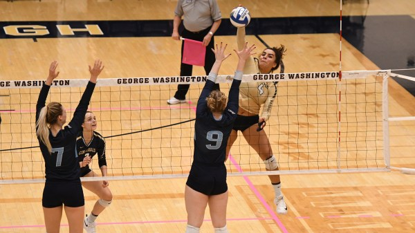 Volleyball Knocked Off by First-Place VCU - George ...