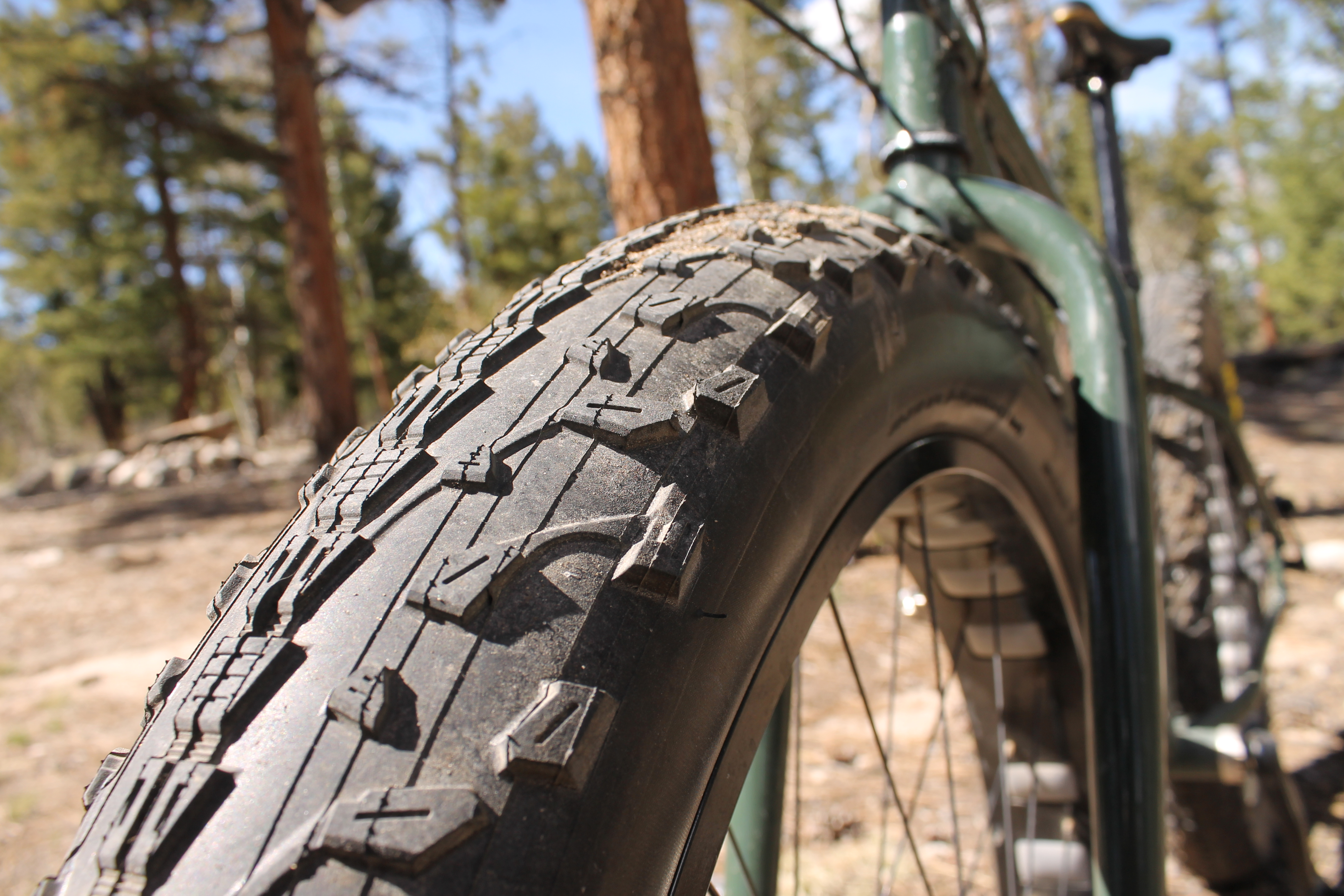 Maxxis Mammoth 4 Quot Fat Bike Tire Review Singletracks Mountain Bike News