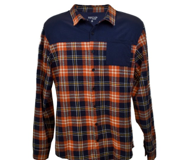 The New Flextop Flannel Is A Cotton And Polyester Blend That Stretches Around The Chest And Back Has A Tailored Fit And More Length In The Back
