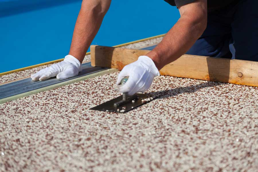 pros and cons of epoxy pebblestone for outdoor use custom stone resurfacing blog
