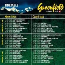 Greenfield Festival 2016 Interlaken Line Up Photos