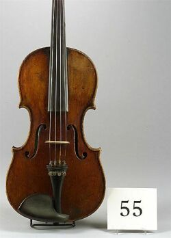 German Violin, Xavier Wagner, 1812 | Sale Number 2197, Lot ...