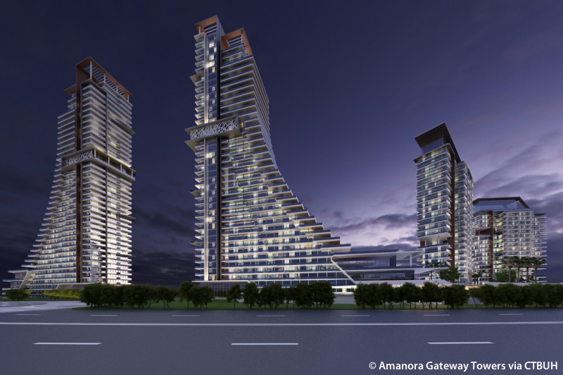 Amanora Gateway Towers 1