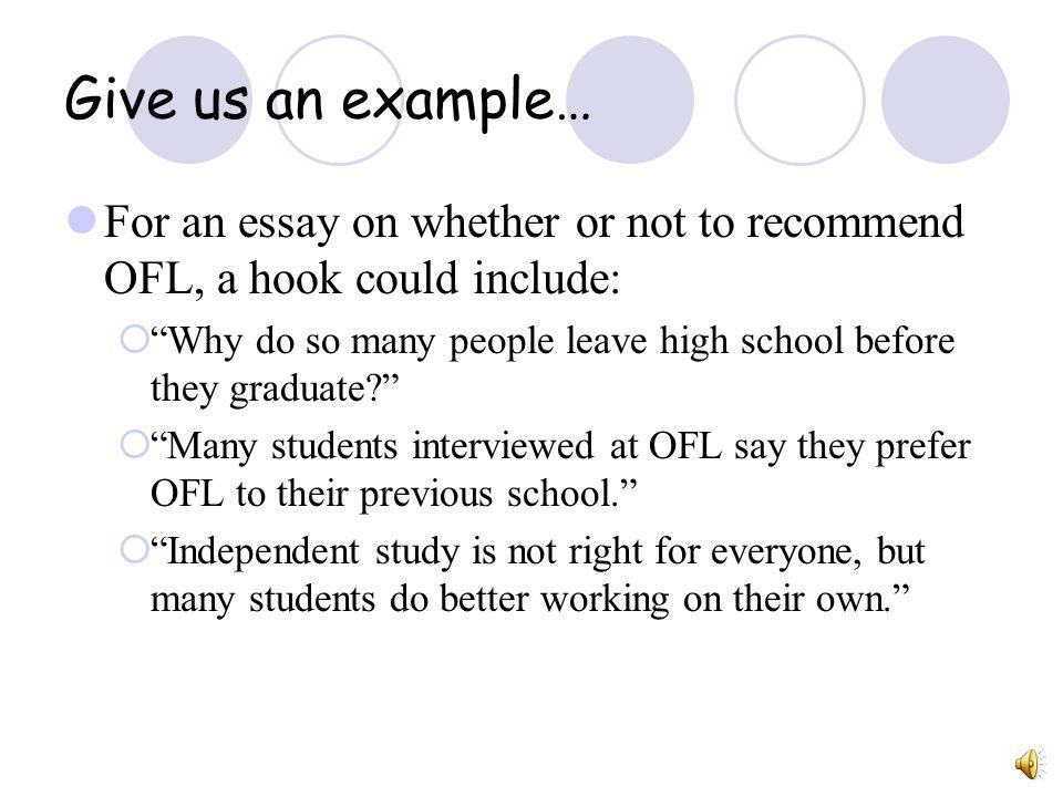 essay hook examples   Docoments Ojazlink