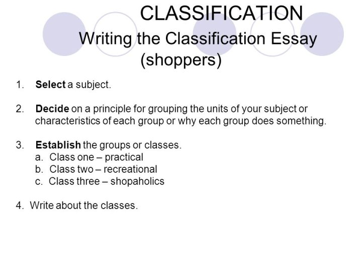 classification essay samples co classification essay samples