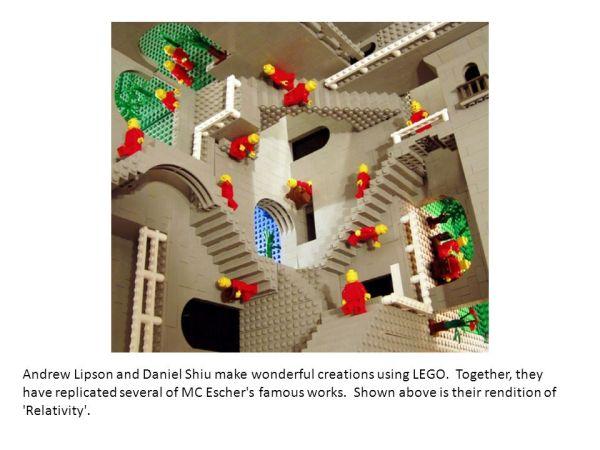 eschers relativity in lego andrew lipson - 960×720