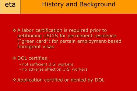Free Resume 2018 » perm labor certification status | Free Resume