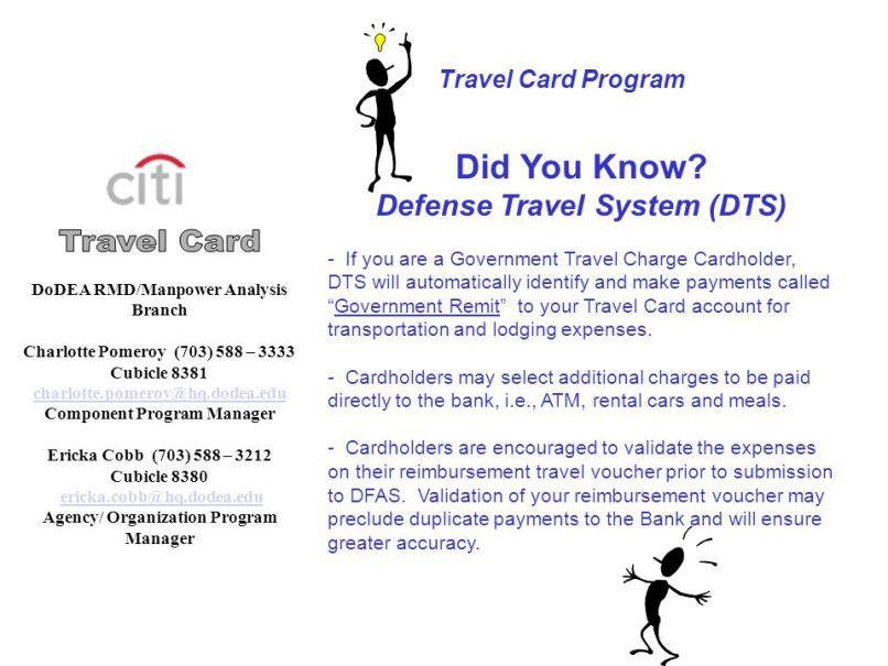 Government Travel Card Apc