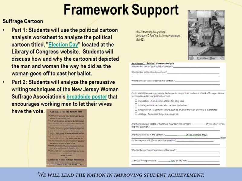 Library Of Congress Political Cartoon Analysis Worksheet – Analyzing Political Cartoons Worksheet