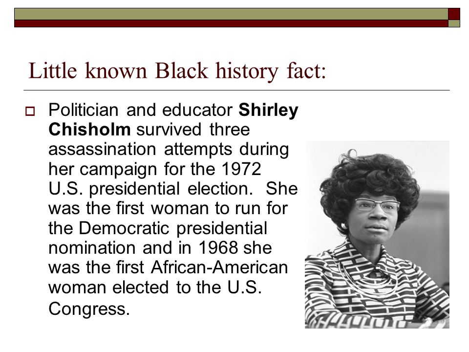 Image result for little known black history facts
