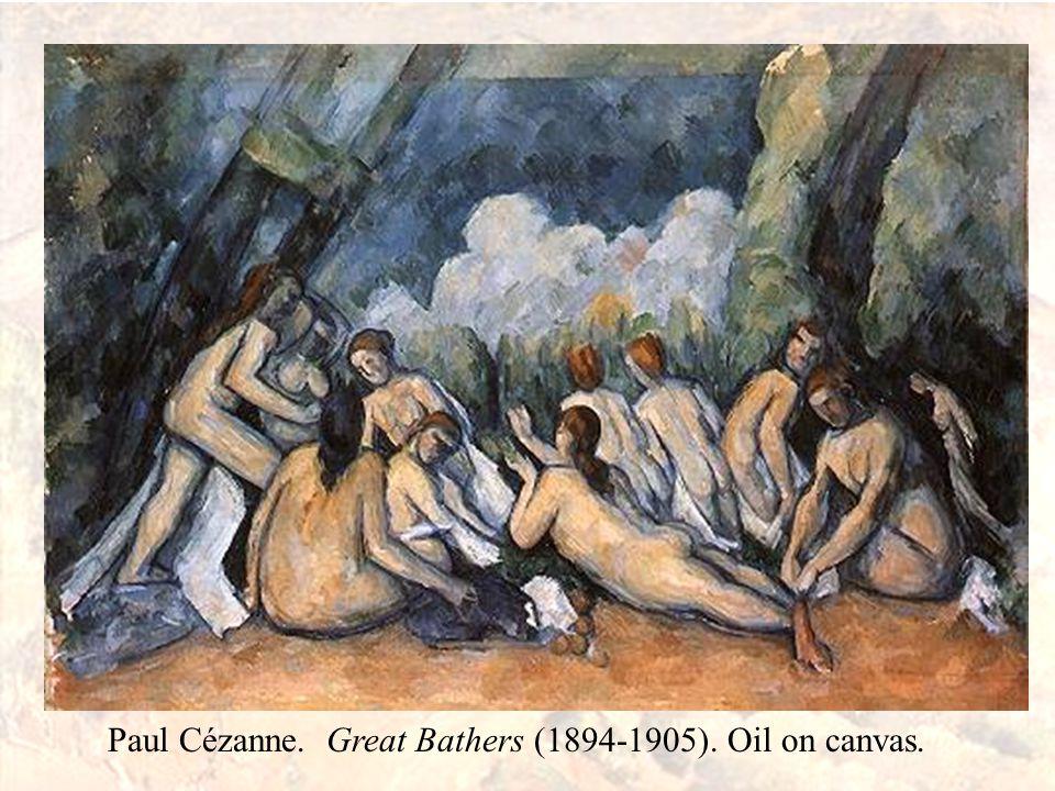 Image result for Bathers (Les Grandes Baigneuses) Paul Cézanne, 1839 - 1906 about 1894-1905