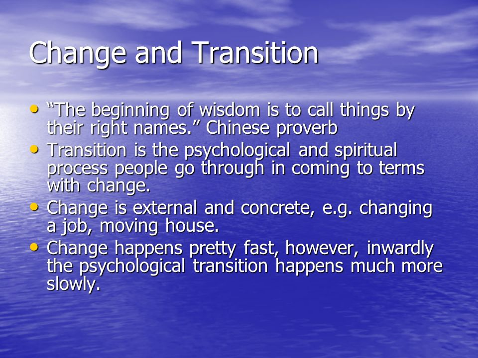 Image result for coming to terms with change