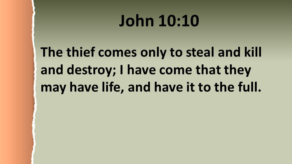 Image result for bible, the thief comes only to steal like a thief in the night