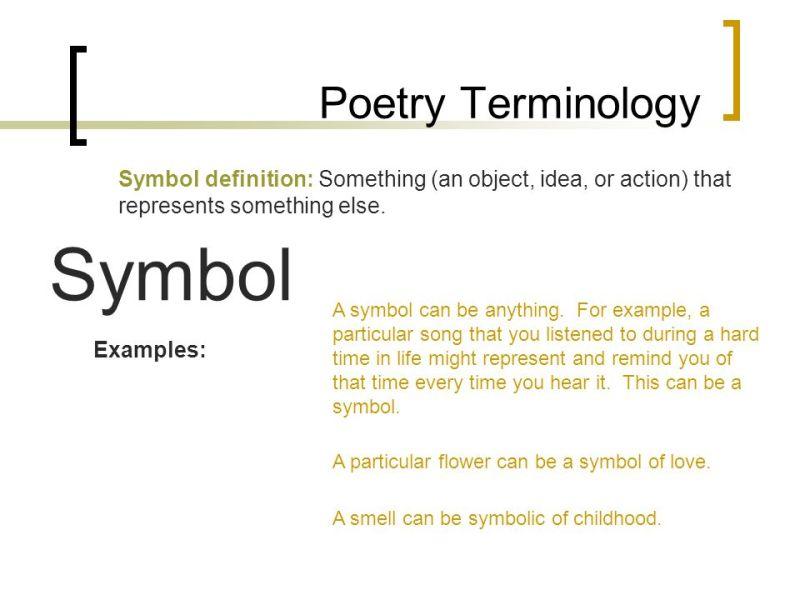 Symbolism Poems Poemsrom