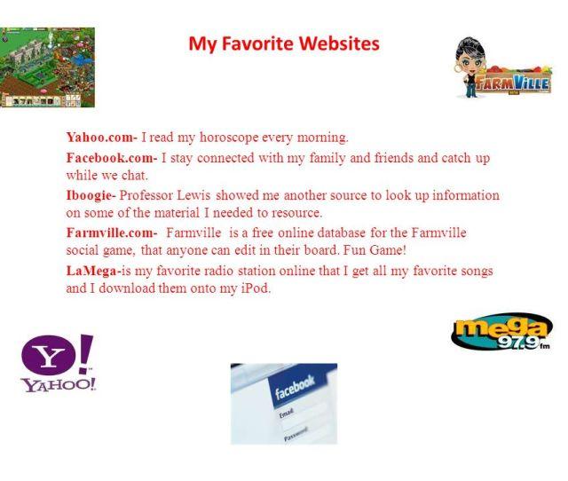 My Favorite Websites Yahoo Com I Read My Horoscope Every Morning
