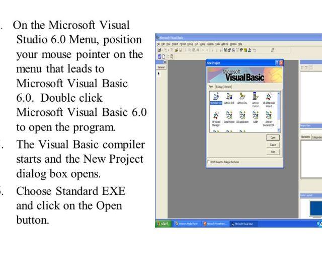 4 4 On The Microsoft Visual