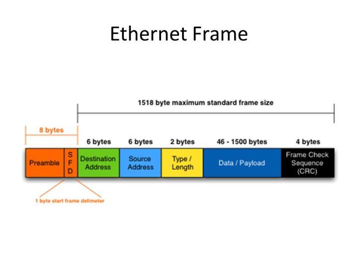 Ethernet Frame Size Vs Mtu | Framess.co