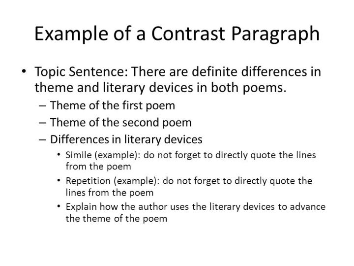 comparison contrast essay example paper paper the comparison  awesome how to write a comparison contrast essay examples comparison  contrast essay example paper and