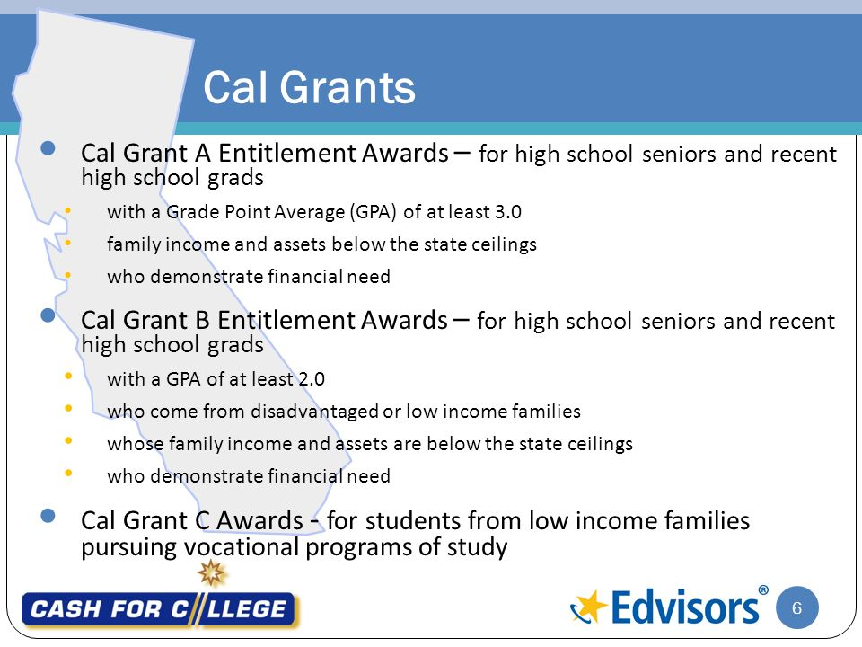 Wonderful Cal Grant Income Ceiling 2018 19 Theteenline Org. 6 Cal. 6 Cal. Applying  For Financial Aid Sponsored By Presented Ppt
