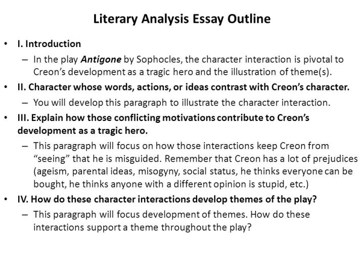 literary analysis essay on theme The literary essay literary devices word choice point of view theme author remember that comparison and contrast is an organizational and analytical.