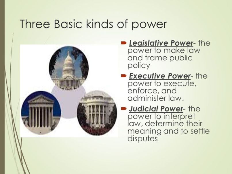 the power to make law and frame public policies | Frameswalls.org