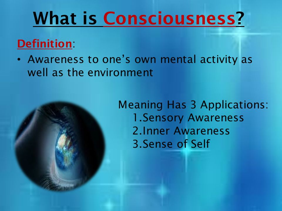 Image result for what is consciousness