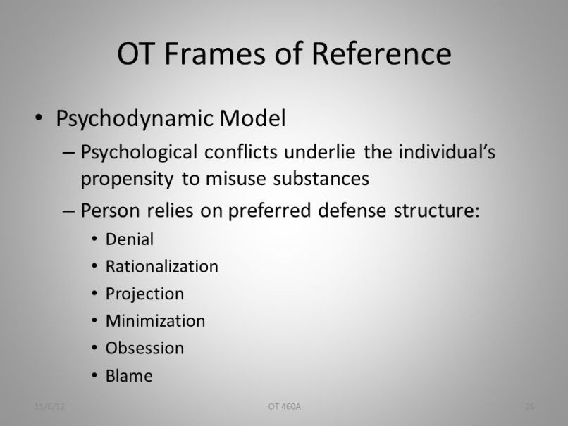occupational therapy frames of reference | Frameswalls.org