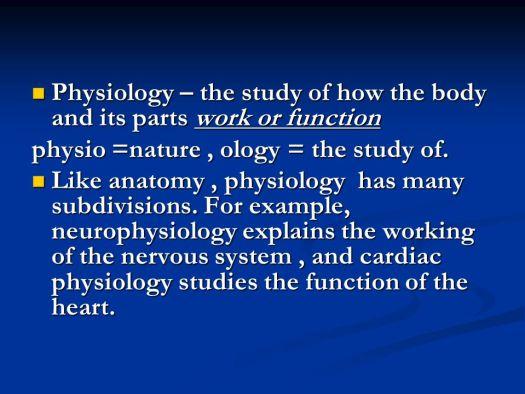 Human Anatomy Physiology Course Description | Periodic & Diagrams ...