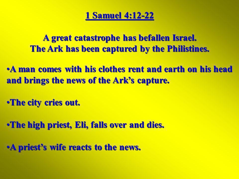 Image result for ichabod 1 samuel 4:12 images