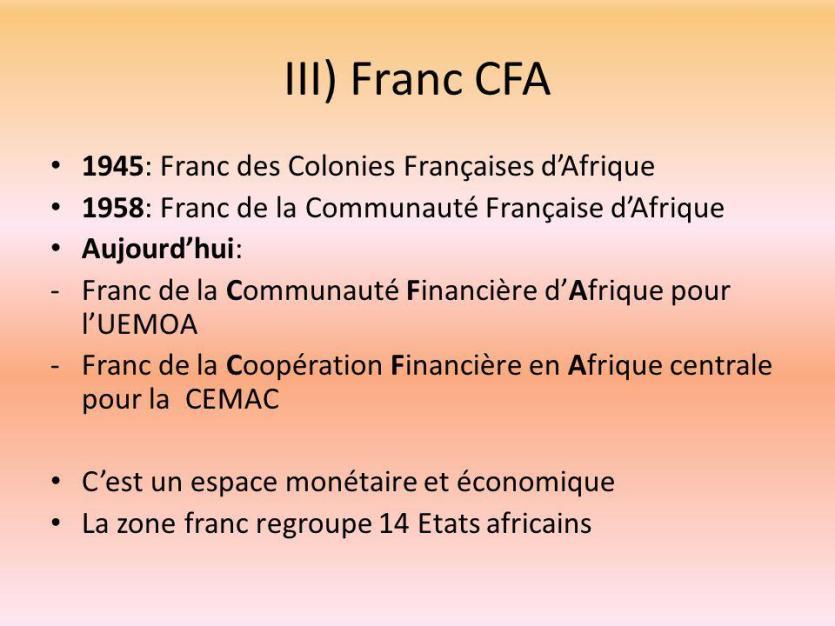 """Résultat de recherche d'images pour """"Franc des colonies françaises d'Afrique"""""""