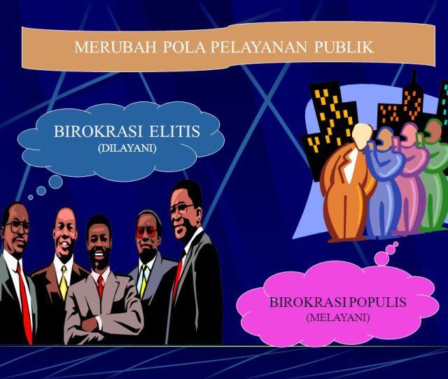 Merubah Pola Pelayanan Publik Birokrasi Elitis Dilayani Birokrasi Populis Melayani