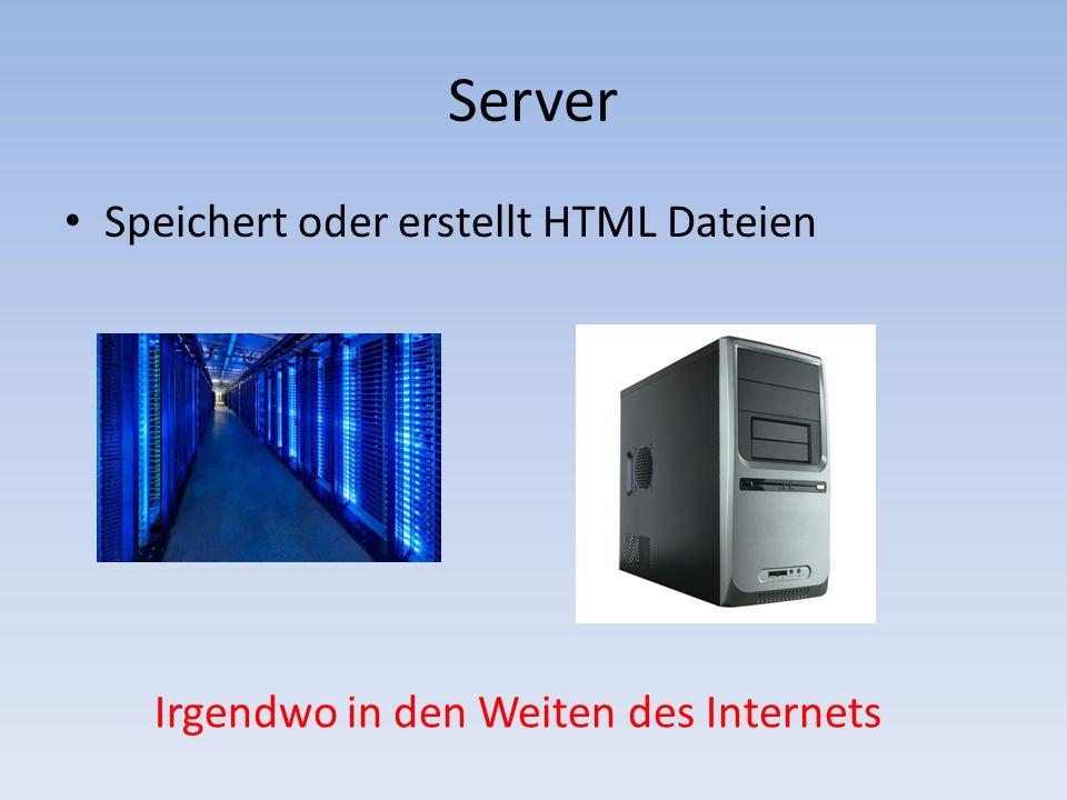 4 server speichert oder erstellt html dateien irgendwo in den weiten des internets