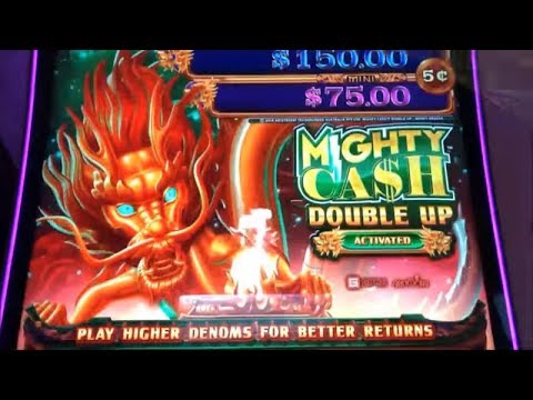 Mighty Cash Double Up Slot Machine