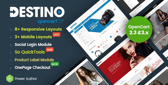 Nova - Responsive Fashion & Furniture OpenCart 3 Theme with 3 Mobile Layouts Included - 15