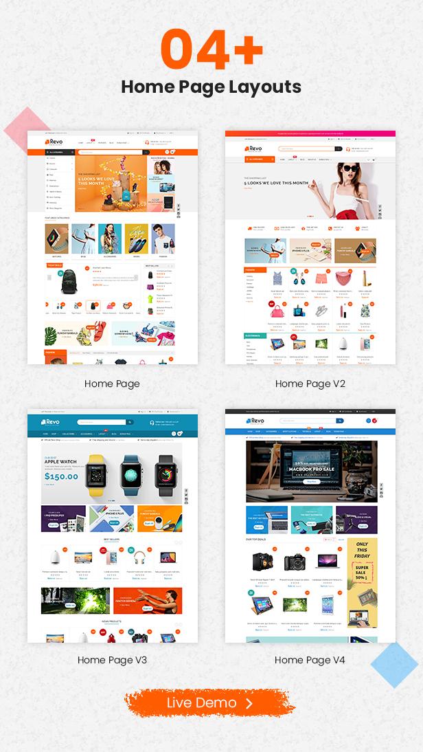 Revo - Multipurpose Stencil Responsive BigCommerce Theme