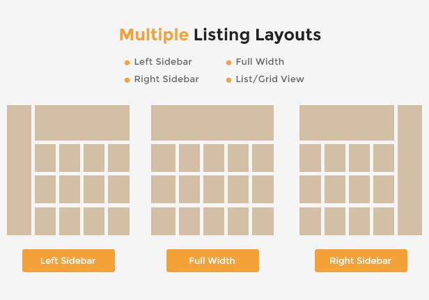 Market - Premium Responsive WordPress WooCommerce Theme - Listing Page