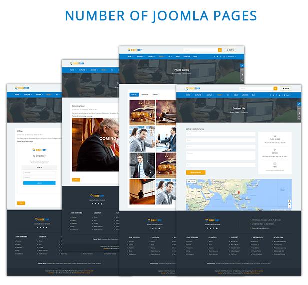 joomla pages